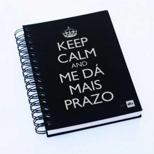 Caderno Capa Dura Personalizada A4