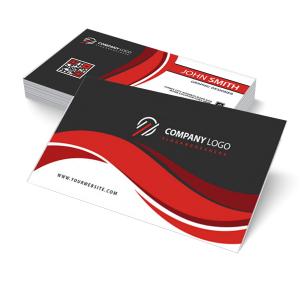 Cartão de Visita Comercial - Impressão Offset - Frente Brilho Papel Supremo 250g 8,5x4,7 cm 4x0 (só frente); 4x4 (frente e verso) Verniz UV Total Frente Corte Reto