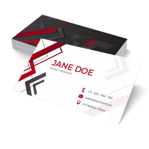 Cartão de Visita Premium - Impressão Offset Papel Couché fosco 350g 9x5cm 4x0 (só frente); 4x4 (frente e verso) Laminação Fosca Frente e Verso; Verniz UV Localizado High Gloss Corte Reto