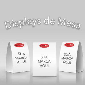 Display de Mesa 15x21 cm Supremo 250g 15x21 cm 4x0 cores Laminação Colado