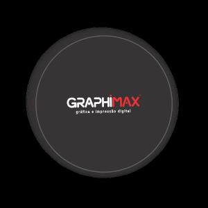 Porta Copos Papel Adesivo Fosco Acoplado em Papelão 9x9 cm 4x0 cores (Frente)  Corte Redondo